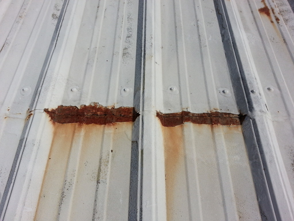 Leaking Lap Joints Metal Roof