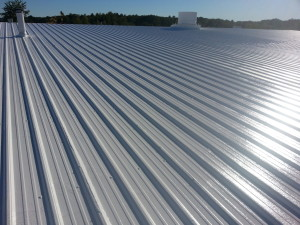 Restored and Seamless Metal Roof