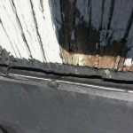 Failed Roof Flashing