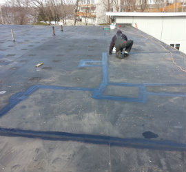 Flat Roof Repair Featured